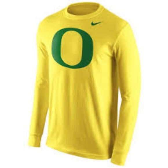 ac87b256 Nike Yellow Oregon Ducks Long Sleeve T-Shirt. M_5b7e6afbbaebf60949429ac6